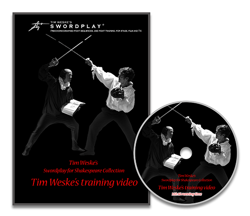 Tim Weske's Sword Training Video DVD